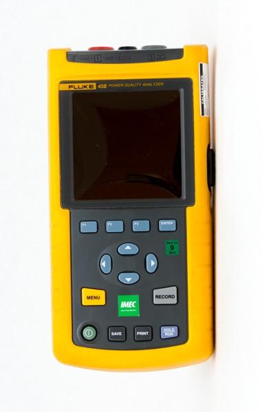 Fluke 43B - Nät- och elkvalitetsanalysatorer