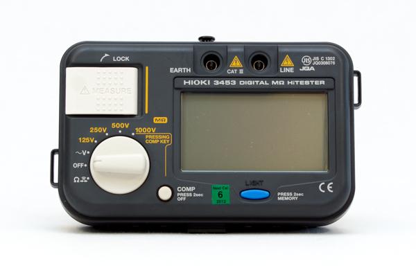 Hoiki 3453 - Isolationsprovare 1000 V